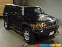 FRESH IMPORT 2006 HUMMER H3 3.5 V6 AUTOMATIC 4WD BLACK H2