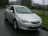 11 REG VAUXHALL ASTRA 1.7CDTi 110PS DIESEL SE 5 DOOR HATCHBACK- V CAR CAT C