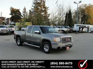 2012 GMC SIERRA 1500 EXT CAB SHORT BOX 4X4