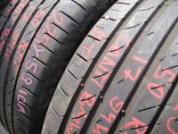 225/50/17 Continental CSC5 SSR, Runflat, BMW x2 A Pair, 5.6mm (168 High Road, Romford, RM6 6LU) Used