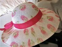 Ladies brand new summer hat