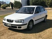 2000 Hyundai Elantra XD GL White 5 Speed Manual Hatchback Mile End South West Torrens Area Preview