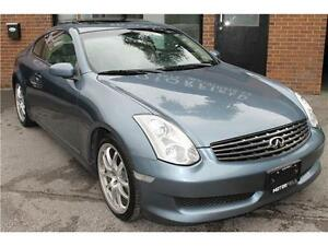 2006 Infiniti G35 Coupe Sport 6 Speed *NO ACCIDENTS | CERTIFIED*
