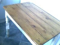 ANTIQUE DISTRESSED DINING/KITCHEN TABLE