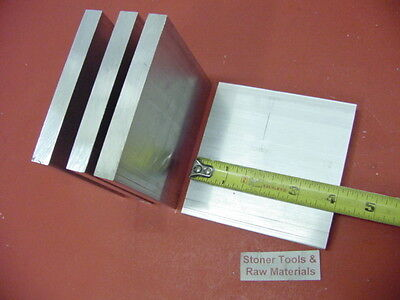 4 Pieces 12 X 4 Aluminum 6061 T6511 Solid Flat Bar 4 Long Plate Mill Stock