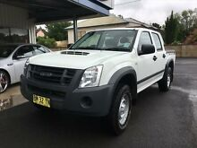 2011 Isuzu D-MAX TF MY10 SX (4x4) White 5 Speed Manual Dual Cab Utility Young Young Area Preview