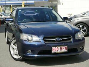 2004 Subaru Liberty B4 MY04 Premium Pack AWD Blue 4 Speed Sports Automatic Sedan