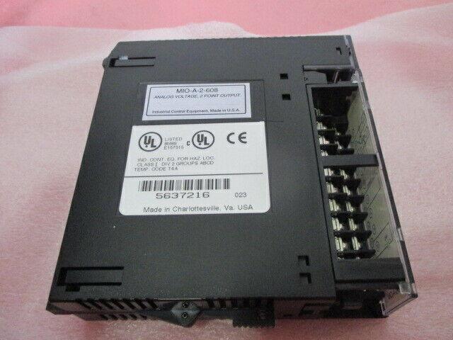 Industrial Control Equip. MIO-A-2-608 Analog Voltage, 2 Pt Output Module, 451327