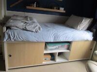 IKEA BANGSUND raised bed with understorage