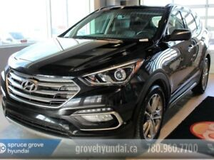 2017 Hyundai Santa Fe Sport LIMITED 2.0L TURBO NAVIGATION LEATHE