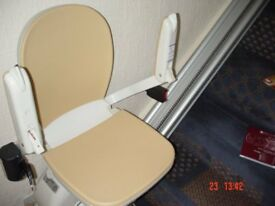 ACORN Stairlift 120 Superglide Straight LH Mounted-Offers invited.