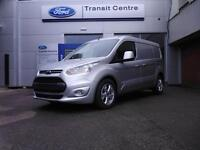 NEW Ford Transit Connect 1.5TDCi 120PS L2 240 Limited in Silver + Nav - PREORDER