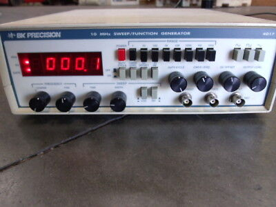 Bk Precision 10 Mhz Sweep Function Generator Model