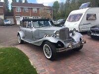 Wedding Car - Ideal small business, beautiful vintage style convertible Beauford DeVille