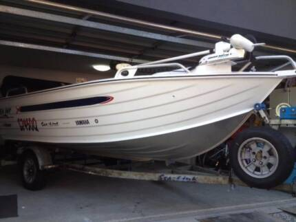 4.5 metre Sea-Jay Escape tinny with Yamaha motor Redcliffe Redcliffe Area Preview