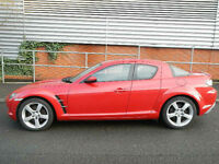 Mazda RX-8 1.3 Stunning Car low miles with history!! very nice to drive!!