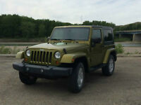 Jeep Wrangler, EXTENDED WARRANTY, low KM, Air conditioning