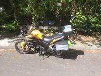 Honley RX3 Venturer - a 250cc adventure bike