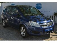 VAUXHALL ZAFIRA BLUE Can't get finance? Bad credit, Unemployed? We can help!