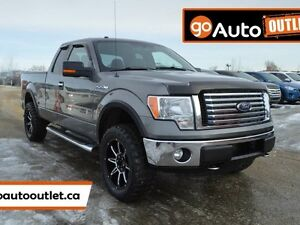 2012 Ford F-150 XLT 4x4 Super Cab 6.5 ft. box 145 in. WB