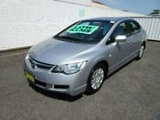 2008 Honda Civic MY08 VTi Silver 5 Speed Manual Sedan Nowra Nowra-Bomaderry Preview