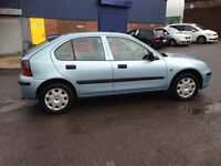 NOW £695 ROVER 25 - 1.6 - SOLID RELIABLE CHEAP CAR