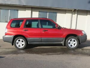 2006 Subaru Forester X Red 5 Speed Manual Wagon Victoria Park Victoria Park Area Preview