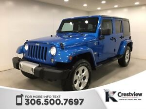 2014 Jeep Wrangler Unlimited Sahara | Navigation
