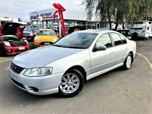 2007 Ford Falcon BF Mk II Futura White 4 Speed Sports Automatic Sedan Seaford Frankston Area Preview