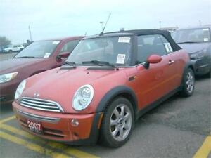 2007 MINI Cooper Convertible FULLY LOADED