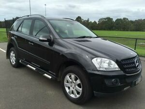 2006 Mercedes-Benz ML W164 320 CDI (4x4) Black 7 Speed Automatic G-Tronic Wagon Revesby Bankstown Area Preview