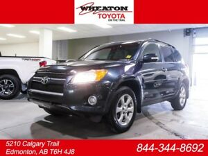 2012 Toyota Rav4 Limited, Leather Hood Deflector, Cross Bars, To
