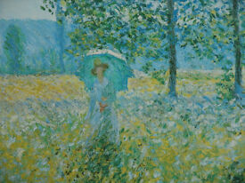 Painted Copy of Monet Picture