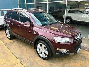 2011 Holden Captiva CG Series II 7 LX (4x4) Maroon 6 Speed Automatic Wagon Hobart CBD Hobart City Preview