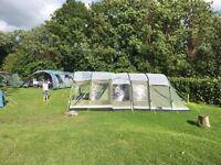 Outwell Montana 6 Tent 2015 Anniversary Edition, Extension, FootPrint, Carpet - Belfast