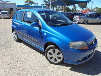 2006 Holden Barina Blue Manual Hatchback