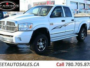 2008 Dodge Ram 3500 Laramie 4x4 Quad Cab 6.5' Short Box 6.7L Cum