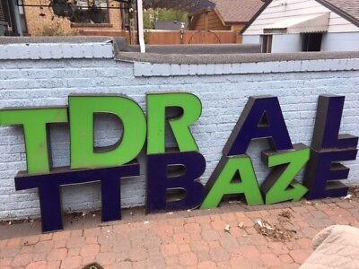 Commercial Can Light Sign Spells Battle Dartz