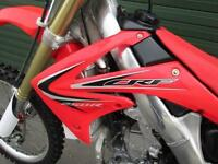 HONDA CRF 250 R 2012 EFI MOTOCROSS MX BIKE