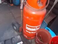 gas heat gun