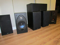 POLK Audio 5.1 speaker system -excellent condition!!!