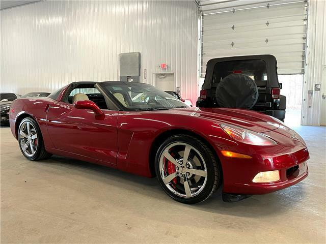 2010 Burgundy Chevrolet Corvette  3LT | C6 Corvette Photo 2