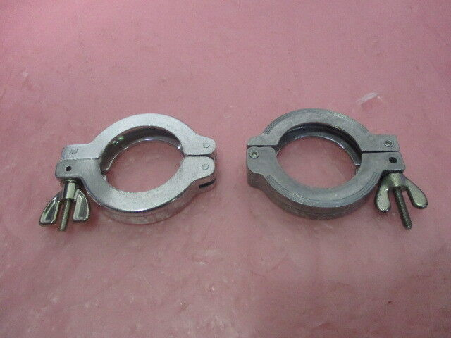2 QF40-150-CW Clamps. NW40, KF40, 414726