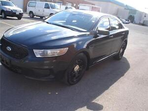 2013 Ford TAURUS BLK/BLK AWD,BACK UP CAMERA,EX-POLICE