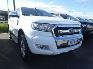 2018 Ford Ranger PX MkII 2018.00MY XLT Double Cab 4x2 Hi-Rider White 6 Speed Sports Automatic Strathmore Heights Moonee Valley Preview