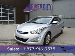 2015 Hyundai Elantra GLS Accident Free,  Heated Seats,  Sunroof,