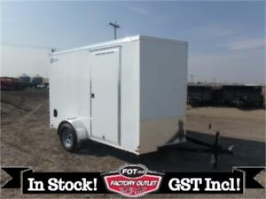 """6 X 10 V-3000 SERIES by Haulmark!~ 6'6"""" Interior Height ~ TAX IN"""