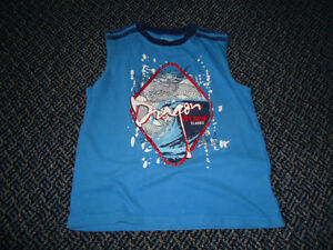 Boys Size 7 Dragon Cotton Tank Top Kingston Kingston Area image 1