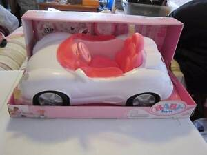 Baby Born White Convertible Car Hornsby Hornsby Area Preview