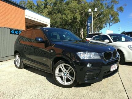2013 BMW X3 F25 MY0413 xDrive20d Steptronic Black Automatic Wagon